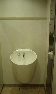 フュージョンが解けたトイレ
