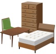 ブランド家具 (ソファ・ダイニングテーブル・タンス・ベッド)