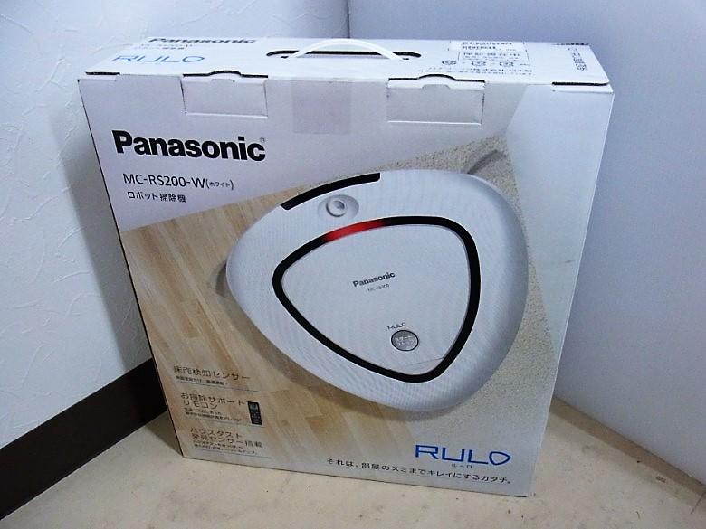 パナソニック ロボット掃除機 RULO MC-RS200